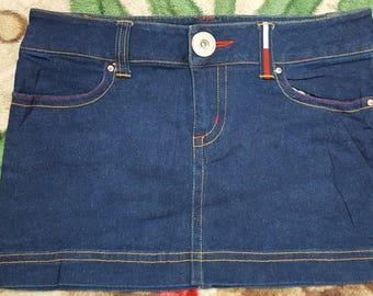 3c6bcf8e0 Vintage Tommy Girls skirt / Tommy Hilfiger / great design