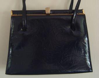1960's Essell Kelly Patent Handbag