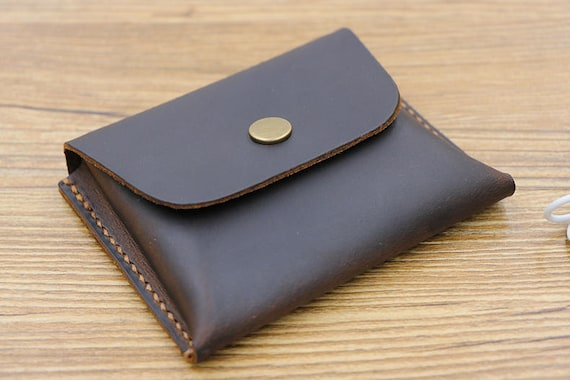 Large capacity card wallet leather card holder business card etsy image 0 colourmoves