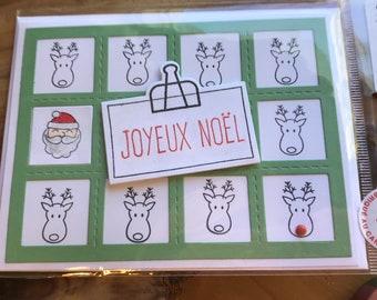 Cartes de Noël - fait à la main