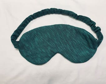 Sleeping Eye Mask/ Green Eye Mask/ Travel Mask / Eye Mask