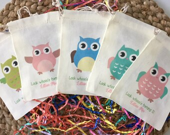 Owl First Birthday Party Decorations  from i.etsystatic.com