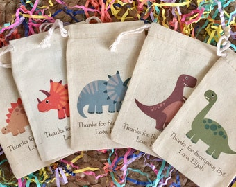 Dinosaur Party Favor Bags