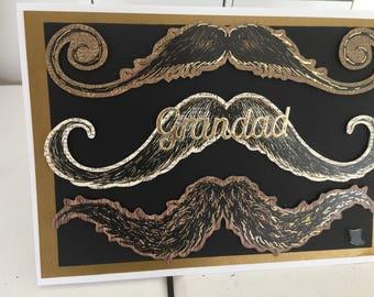 Grandad moustache birthday