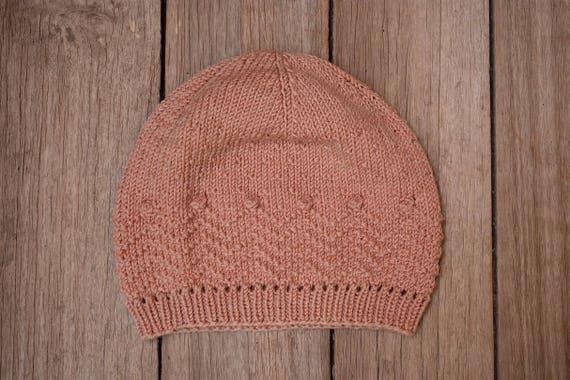 Knitting Pattern Viajera Beanie Superwash Merino Wool Etsy