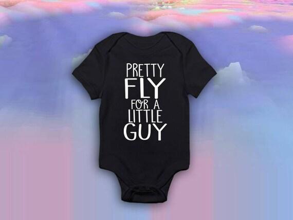 ebd16022c260 Pretty fly little guy boys bodysuit trendy newborn boy Baby