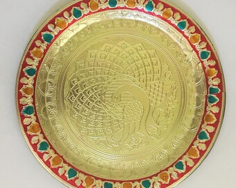 Items Similar To Diwali Gifting Tray Decorative Tray Mehndi