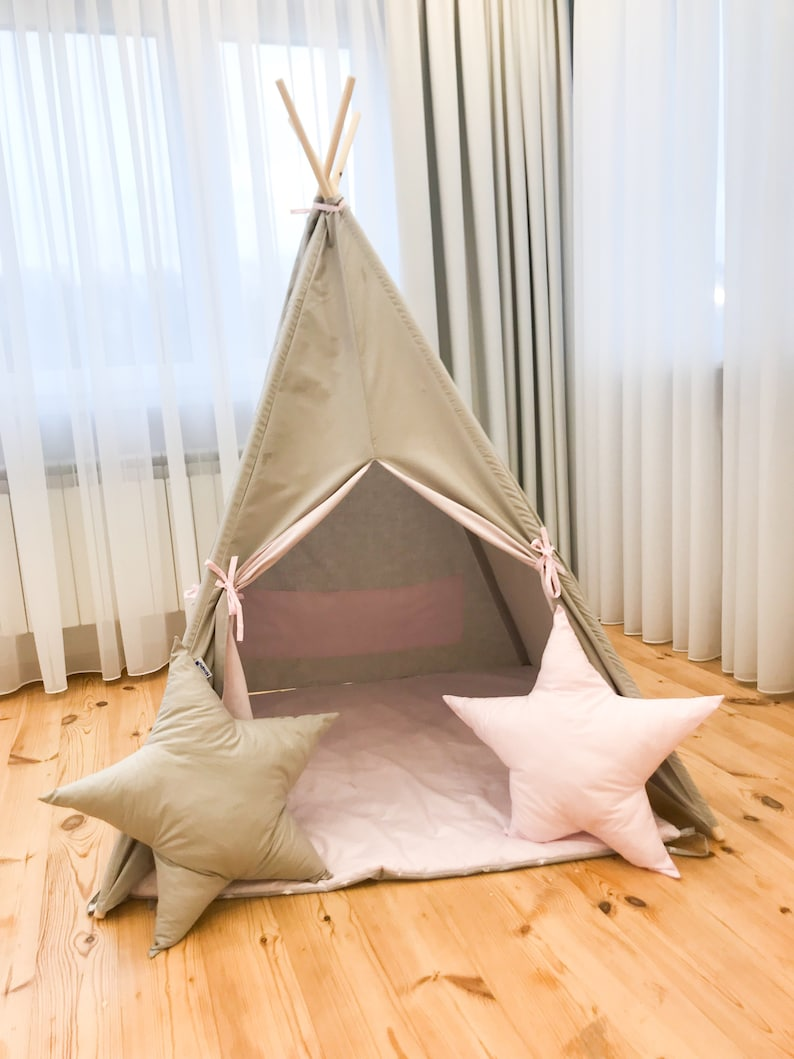 Teepee Tent Wigwam Teepee For Children Etsy