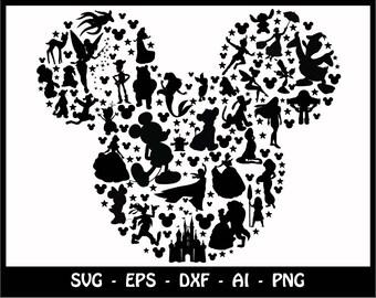 silhouette cut files etsy