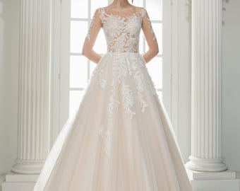 "Wedding dress wedding Dress ""Sacura"