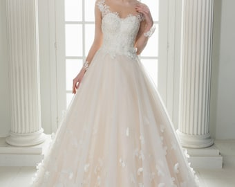 Wedding dress wedding dress Butterfly