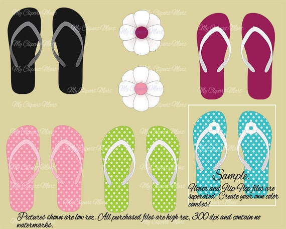 graphic relating to Flip Flop Printable titled turn flop clipart/business clipart/printable graphics/rainbow switch flops/summer season clipart/transform flop graphics/sbooking clipart