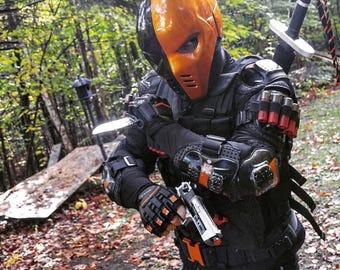 Deathstroke Arrow mask helmet base on TV Serial & Deathstroke | Etsy
