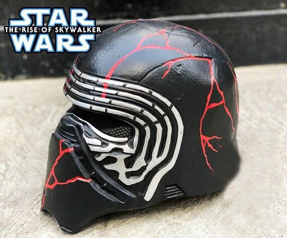 Kylo Ren Mask Helmet From Star Wars The Sky Of Skywalker Hd Etsy