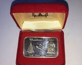 1oz Silver Bar from Crown Mint - A vintage product of the 80 39 s