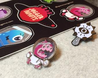 Pin & Sticker Bundle - FREE Shipping! (US)