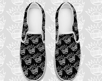 WEEN Boognish Slip-on Canvas Shoes