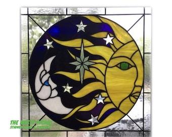 Sun-Moon Panel (Pattern Only)