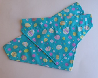 Easter dog bandana, over the collar dog bandana, Slip on dog bandana, dog scarf, holiday bandana for dogs