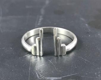 Modern Art Deco Rings