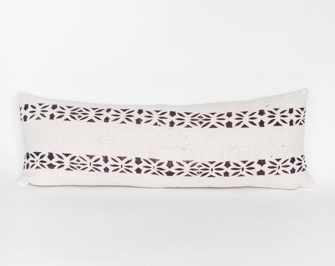 Eggplant & White Mud Cloth