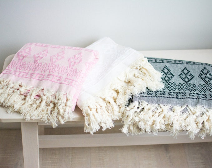 Aztec Turkish Throw