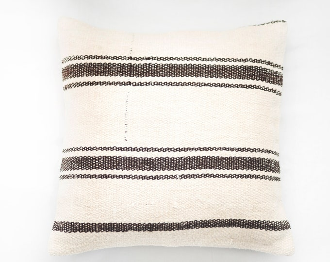 Large Kilim Pillow No. 145
