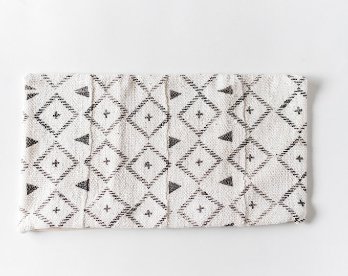 Grey Patterned Mudcloth
