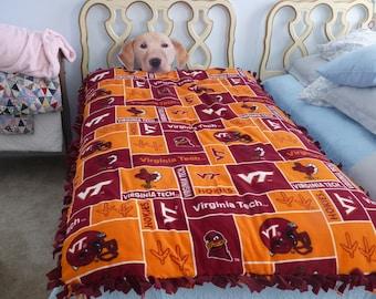 Virginia Tech College-Themed Comforter