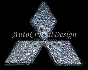 Bling Car Emblem Etsy
