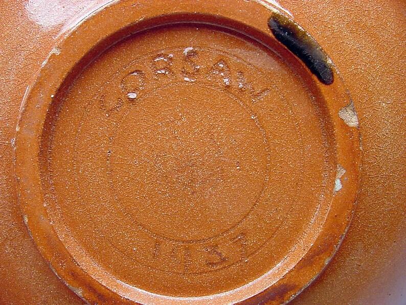 Listed Oklahoma Artist 1937 Roger Corsaw Luster Glazed Studio Pottery Bowl SIGNED