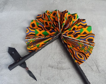 Kente Hand Fan