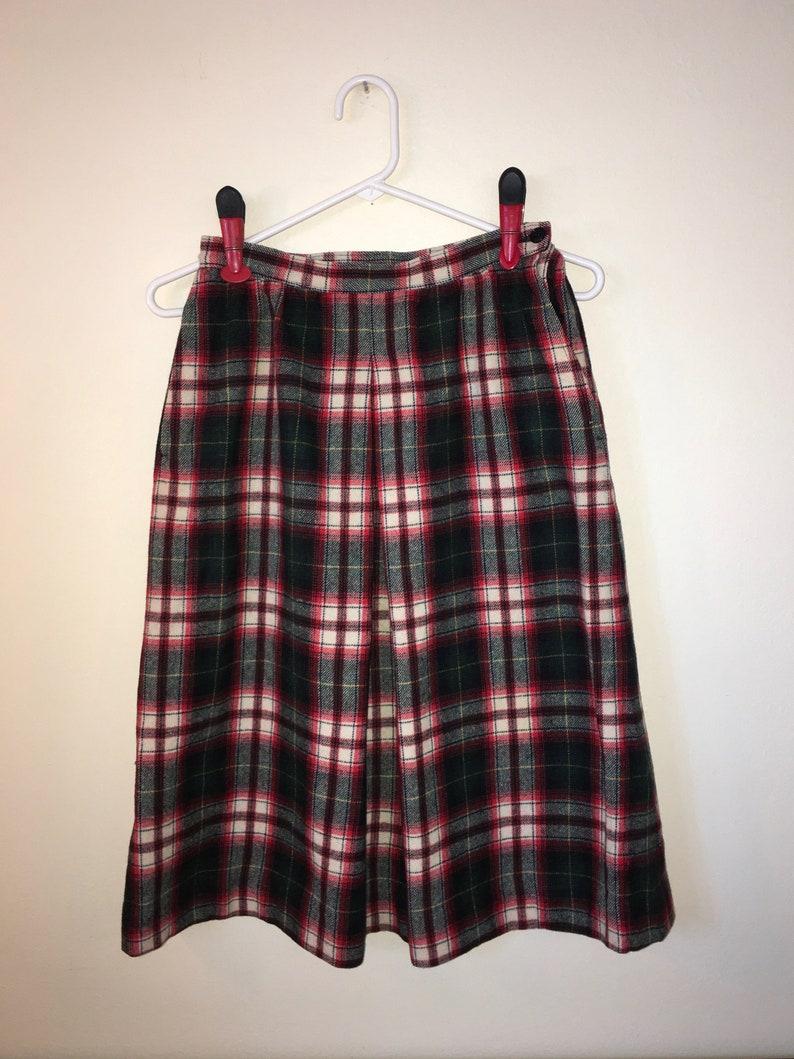 fd6429ff76 Red Green White Plaid Skirt – DACC