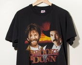 90s Vintage Single Stitch Brooks Dunn T-Shirt Made in USA Country Music Rock N Roll Picture Graphic Anvil Rap Tee Retro Hip Hop Streetwear
