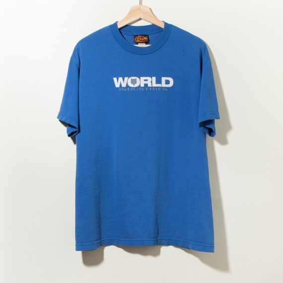 90s Vintage World Industries Skateboard T-Shirt De