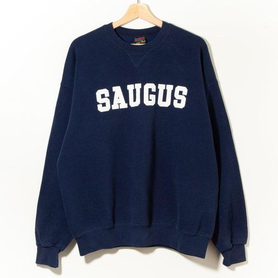 80s Vintage Spell Out Crewneck Sweatshirt Saugus C