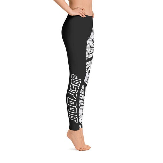 Atikapu Matalai Kalosipani Capri Leggings Polynesian Design Leggings Hawaiian Flower Capri Leggings