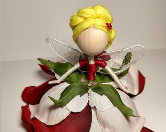 Leslie the Red Rose Fairy