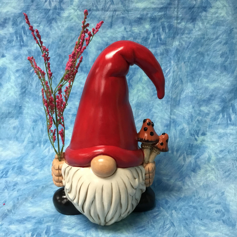 Nain de jardin céramique gnome gnome fabriqués à la main | Etsy