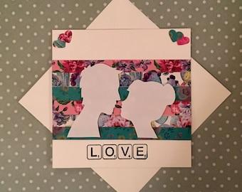 Love - Handmade Card