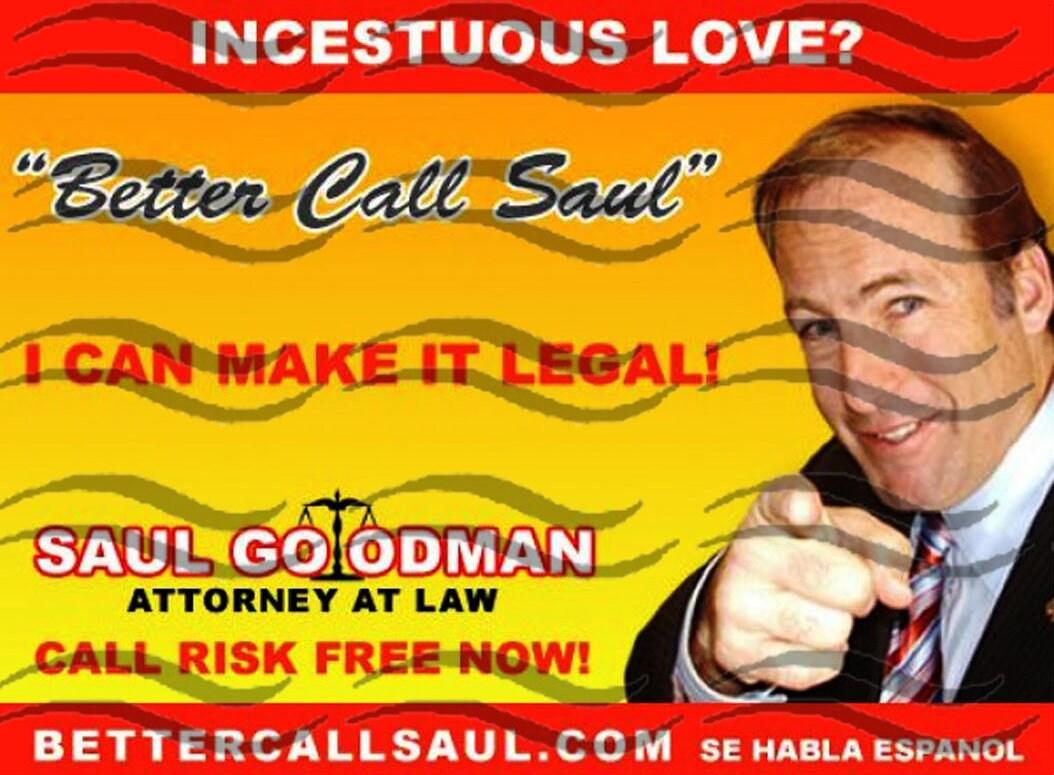 Better Call Saul Business Card