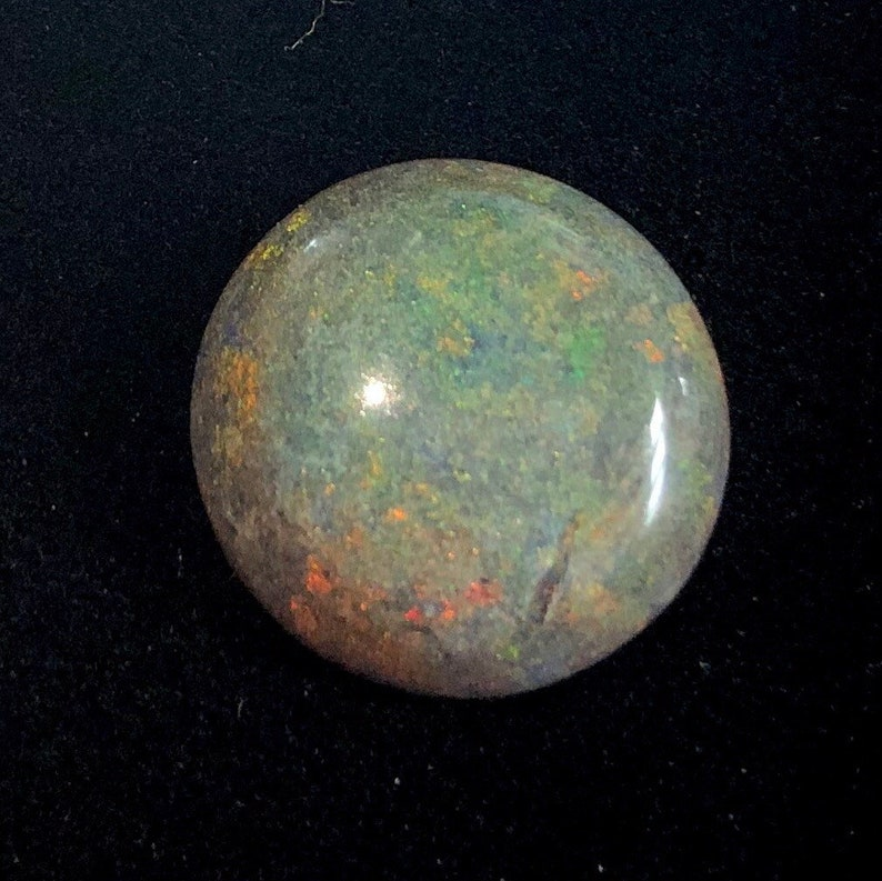 Australian Opal Andamooka Black Matrix Opal