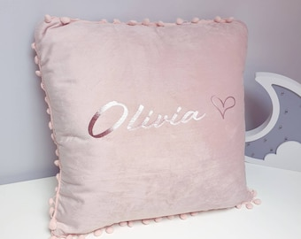 Swedish Style Pillow Cover Monogram