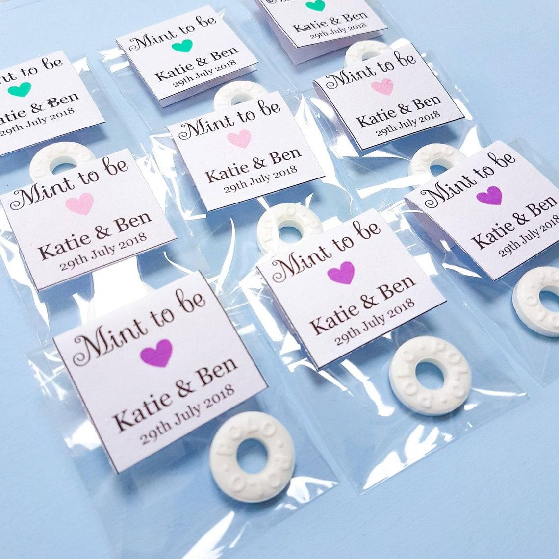 Mints Wedding Favours