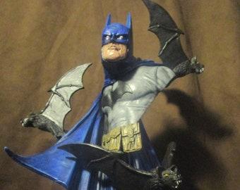 BATMAN sculpture bust UNPAINTED KIT 1:6 scale