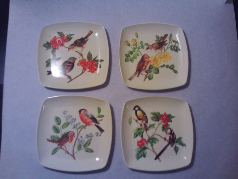 Decorative Crafts Inc Italy Square Plastic Serving Trays Etsy