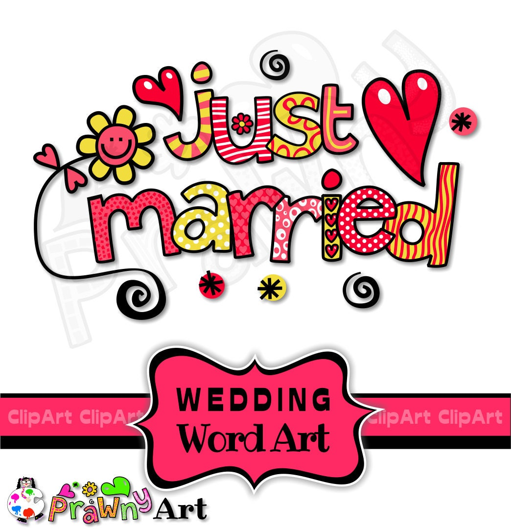 wedding clipart marry me clip art honeymoon save the etsy rh etsy com Funny Honeymoon Quotes Wedding Ring Clip Art
