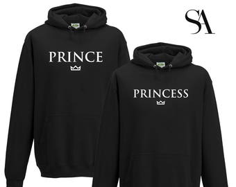 Prince and Princess Couples Sweatshirt Set - Free UK Shipping teiR4hzMr