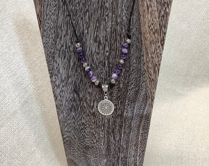 Pewter and Amethyst