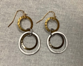 Tri-colored Hoops